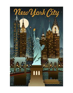 New York City by Lantern Press