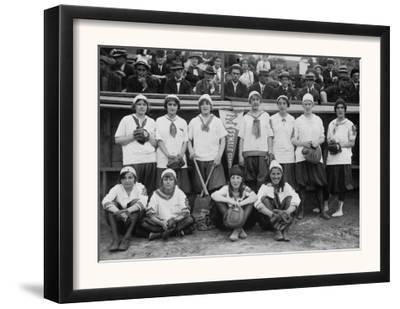 New York Female Giants, Baseball Photo No.2 - New York, NY by Lantern Press