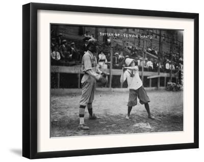 New York Female Giants, Baseball Photo No.5 - New York, NY by Lantern Press