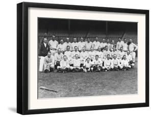 New York Yankees Team, Baseball Photo - New York, NY by Lantern Press