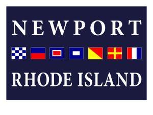Newport, Rhode Island - Nautical Flags by Lantern Press