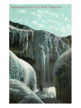 Niagara Falls, New York - Cave of the Winds Ice Formation by Lantern Press