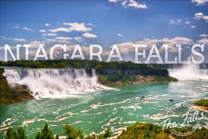Niagara Falls - Panoramic View by Lantern Press