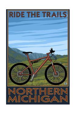 Northern Michigan - Ride the Trails by Lantern Press