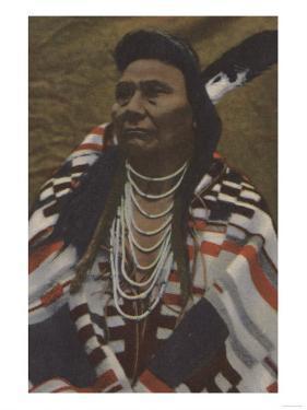Northwest Indians - Chief Joseph of the Nez Perces Tribe by Lantern Press