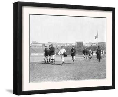 NY Giants led by John McGraw, Baseball Photo - New York, NY by Lantern Press