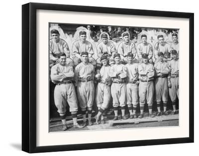 NY Giants Team, Baseball Photo No.1 - New York, NY by Lantern Press