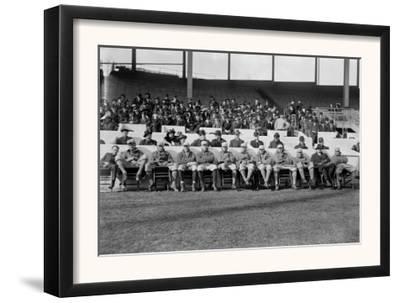 NY Giants Team, Baseball Photo No.4 - New York, NY by Lantern Press