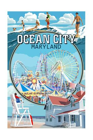 Ocean City, Maryland - Montage Scenes