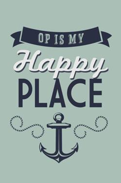 Ocean Park, Maine - OP is My Happy Place by Lantern Press