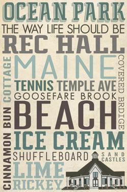 Ocean Park, Maine by Lantern Press