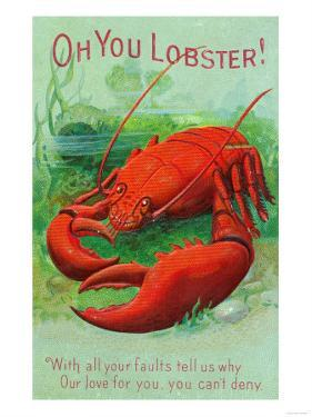 Oh You Lobster Scene by Lantern Press