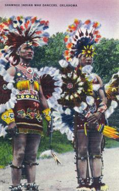 Oklahoma - Shawnee Indian War Dancers by Lantern Press
