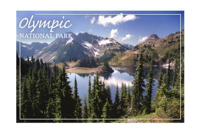 Olympic National Park - Hart Lake by Lantern Press