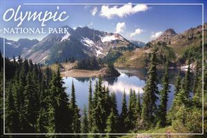 Olympic National Park - Hart Lake by Lantern Press