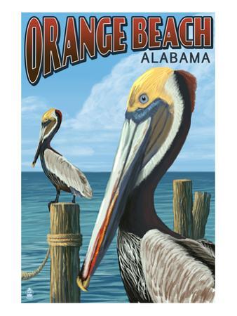 Orange Beach, Alabama - Brown Pelican