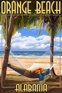 Orange Beach, Alabama - Hammock Scene by Lantern Press