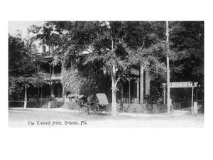 Orlando, Florida - Tremont Hotel Exterior View by Lantern Press