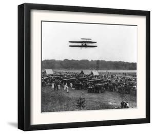 Orville Wright and Lahm in Record Flight Photograph - Fort Meyer, VA by Lantern Press