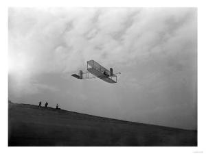 Orville Wright Testing Glider Photograph - North Carolina by Lantern Press