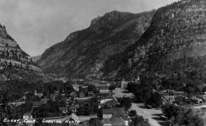 Ouray, Colorado - Northern View from Town by Lantern Press