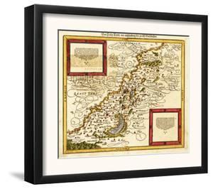 Palestine - Panoramic Map by Lantern Press