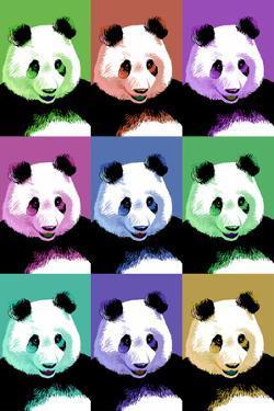 Panda Pop Art - Visit the Zoo by Lantern Press