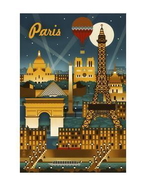 Paris by Lantern Press