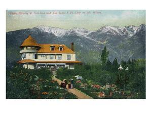 Pasadena, California - Picking Flowers Near Mount Wilson by Lantern Press