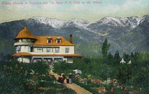 Pasadena, California - Picking Flowers Near Mount Wilson by Lantern Press