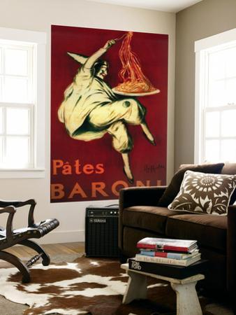 Pates Baroni Vintage Poster - Europe by Lantern Press