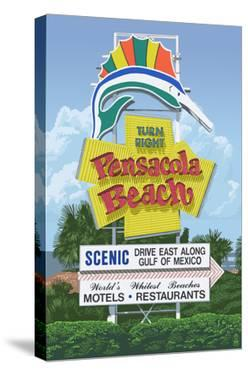 Pensacola Beach, Florida by Lantern Press