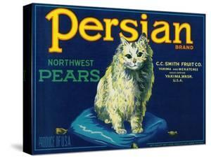 Persian Pear Crate Label - Yakima, WA by Lantern Press