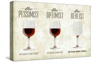 Pessimist Optimist Realist by Lantern Press