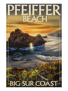 Pfeiffer Beach, California by Lantern Press