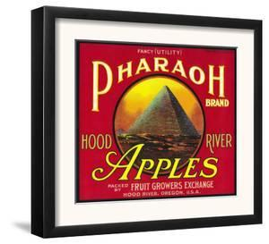 Pharaoh Apple Crate Label - Hood River, OR by Lantern Press
