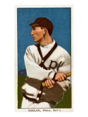 Philadelphia, PA, Philadelphia Phillies, Doolin, Baseball Card by Lantern Press