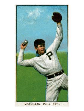 Philadelphia, PA, Philadelphia Phillies, George McQuillan, Baseball Card by Lantern Press