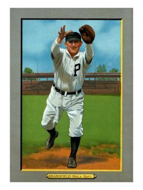 Philadelphia, PA, Philadelphia Phillies, Kitty Bransfield, Baseball Card by Lantern Press