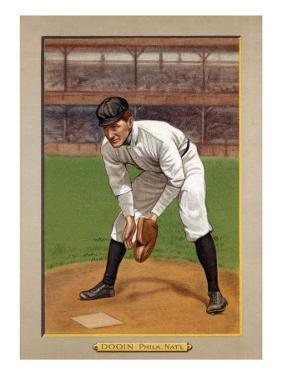 Philadelphia, PA, Philadelphia Phillies, Red Dooin, Baseball Card by Lantern Press