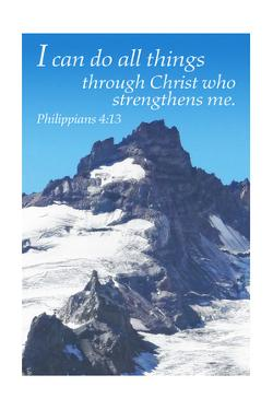 Philippians 4:13 - Inspirational by Lantern Press