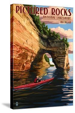 Pictured Rocks National Lakeshore, Michigan by Lantern Press