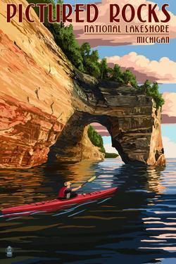 Pictured Rocks National Lakeshore, Michigan by Lantern Press