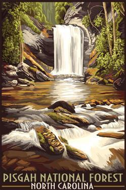 Pisgah National Forest - North Carolina by Lantern Press