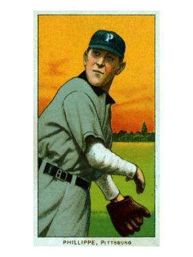 Pittsburgh, PA, Pittsburgh Pirates, Deacon Phillippe, Baseball Card by Lantern Press