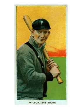 Pittsburgh, PA, Pittsburgh Pirates, Owen Wilson, Baseball Card by Lantern Press