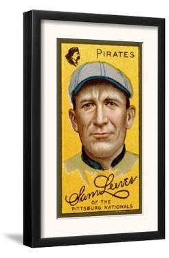 Pittsburgh, PA, Pittsburgh Pirates, Sam Leever, Baseball Card by Lantern Press
