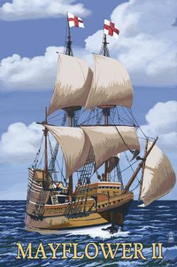 Plimoth Plantation, Massachusetts - Mayflower II by Lantern Press