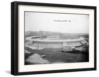 Polo Grounds, NY Giants, Baseball Photo - New York, NY by Lantern Press