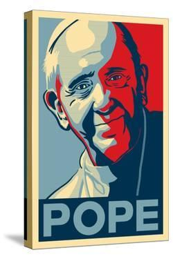 Pope - Lithography Style by Lantern Press